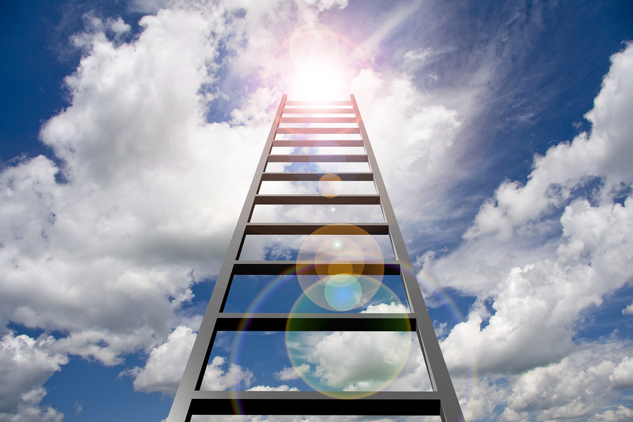 bigstock-Ladder-into-sky-45069067
