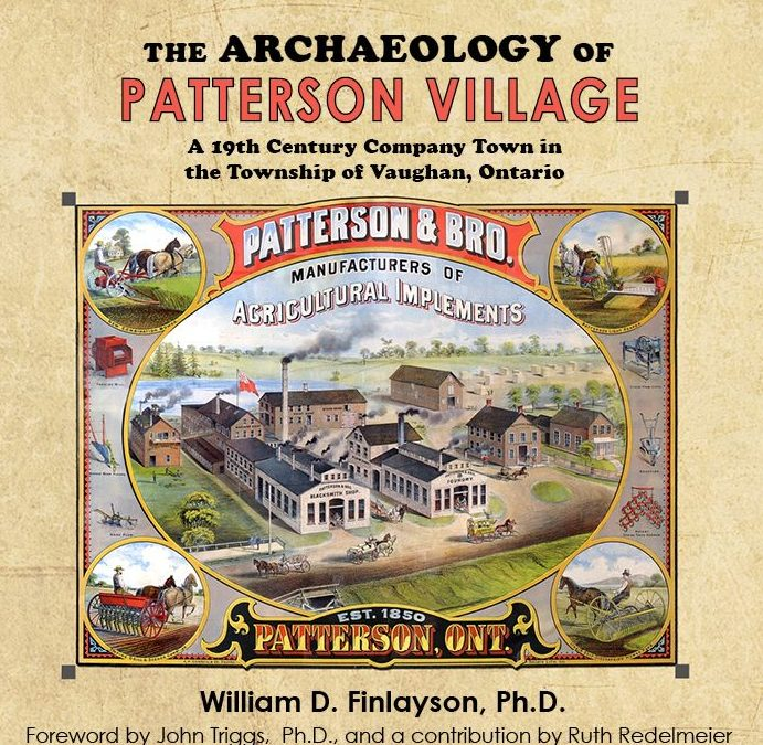 I C Publishing Introduces William D. Finlayson, Ph.D., Author of The Archaeology of Patterson Village